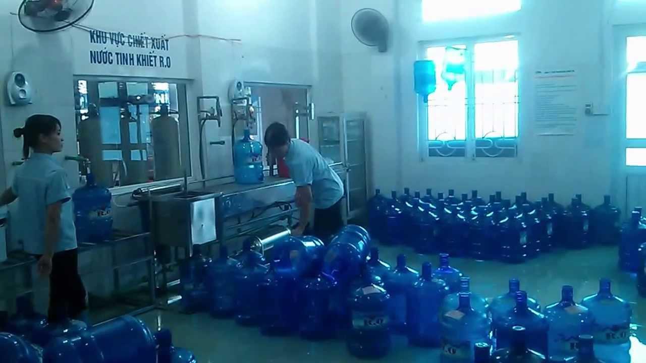 Quy trình hoạt động của dây chuyền sản xuất nước