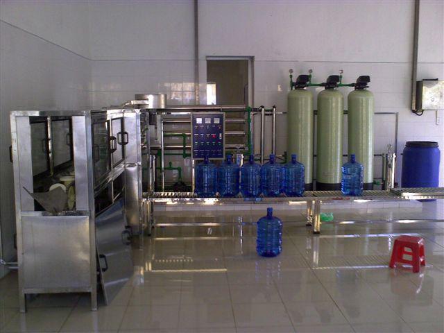 Dây chuyền sản xuất nước tinh khiết đóng bình 20l