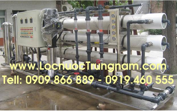 day chuyền sản xuất nước tinh khiết