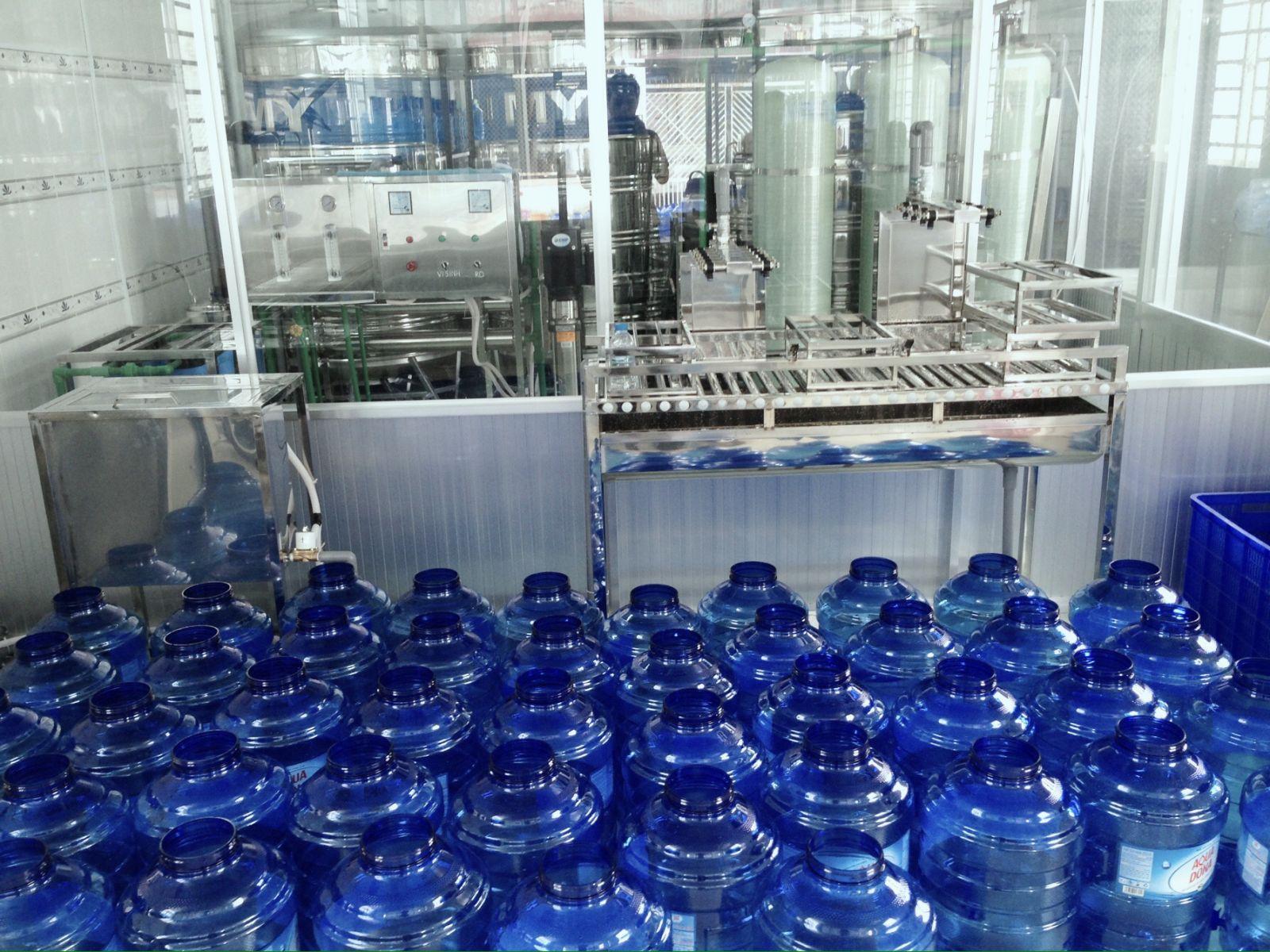cơ sở sản xuất nước đóng bình